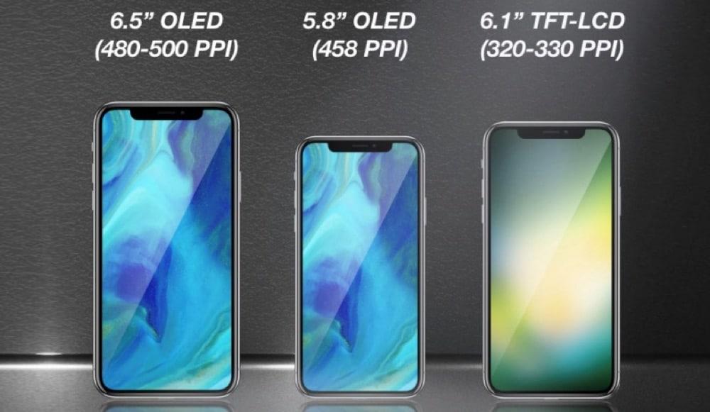 iPhone 2018 mit Notch