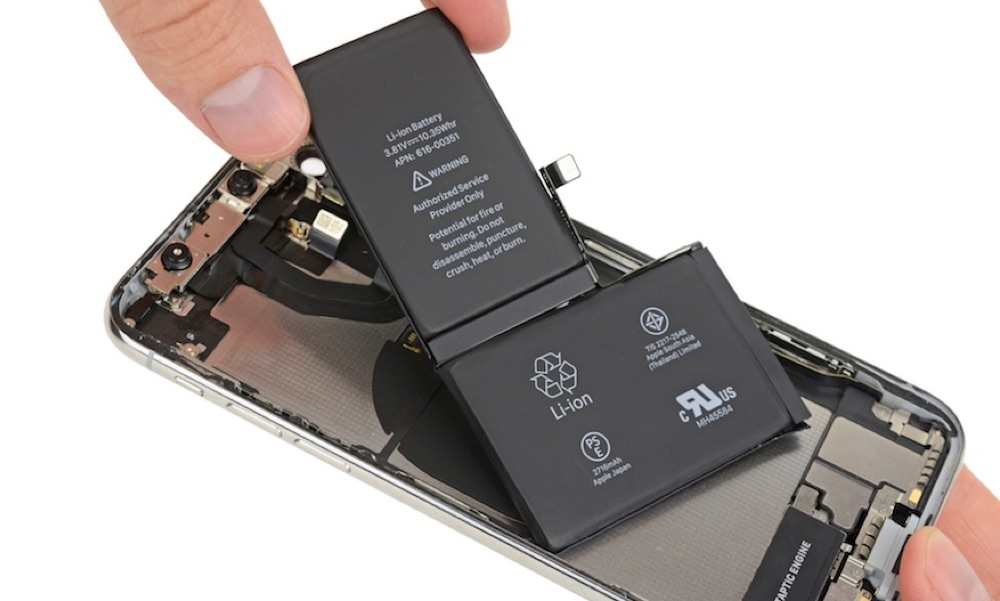 iPhone X Akku