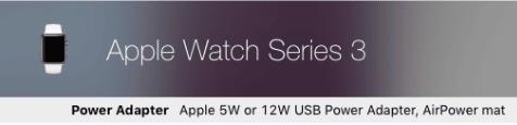 MacTracker Apple Watch Series3