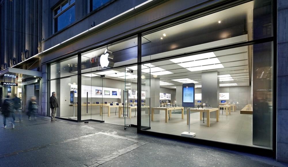 Apple Store Zürich Schweiz
