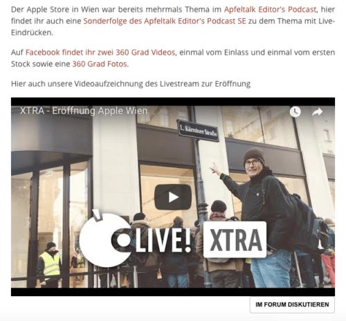 Screenshot iMac