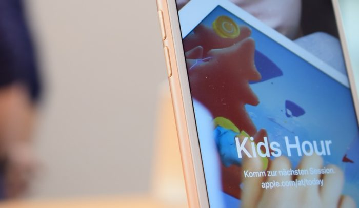 iPhone 8 Plus Kids Hour Apple Today