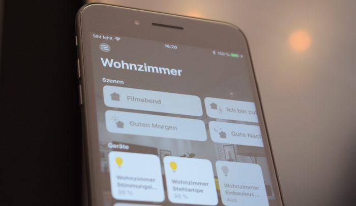 iPhone Home HomeKit