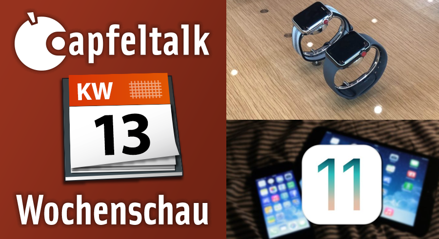 neulich bei apfeltalk was letzte woche wichtig war kw 13 2018 apfeltalk magazin. Black Bedroom Furniture Sets. Home Design Ideas