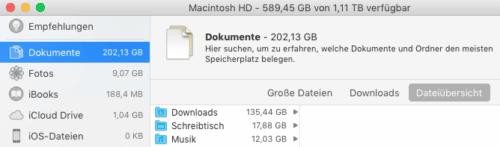 Dokumente - Dateiübersicht