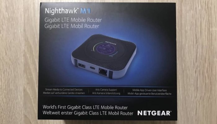 Netgear Nighthawk M1 Cover