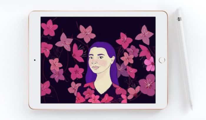 iPad 6 Apple Pencil Zeichnung