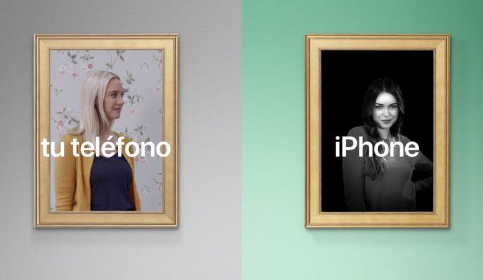 iPhone-Werbespot Porträtlicht
