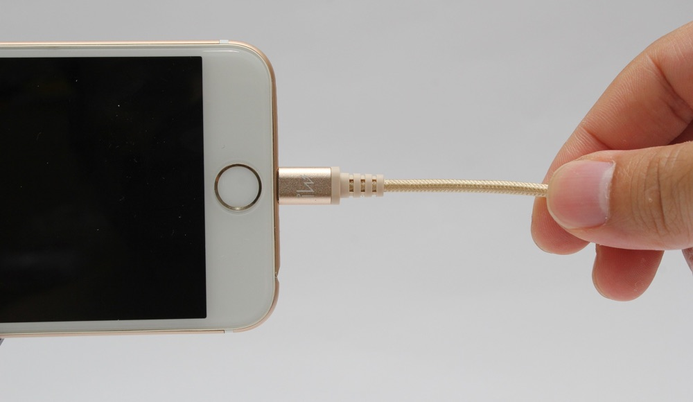 iPhone aufladen Lightning-Kabel