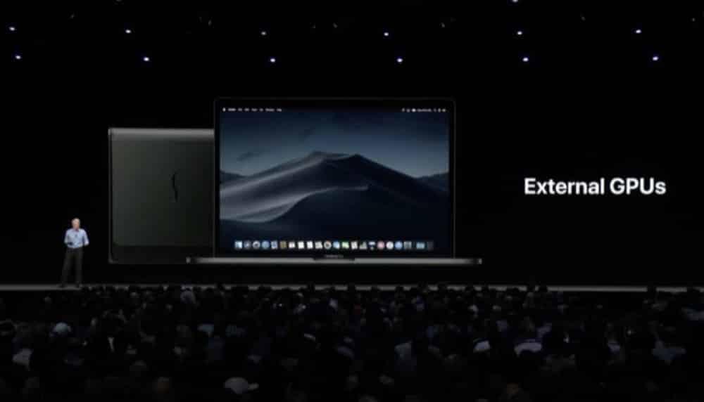 macOS eGPU-Support: Apple aktualisiert Liste