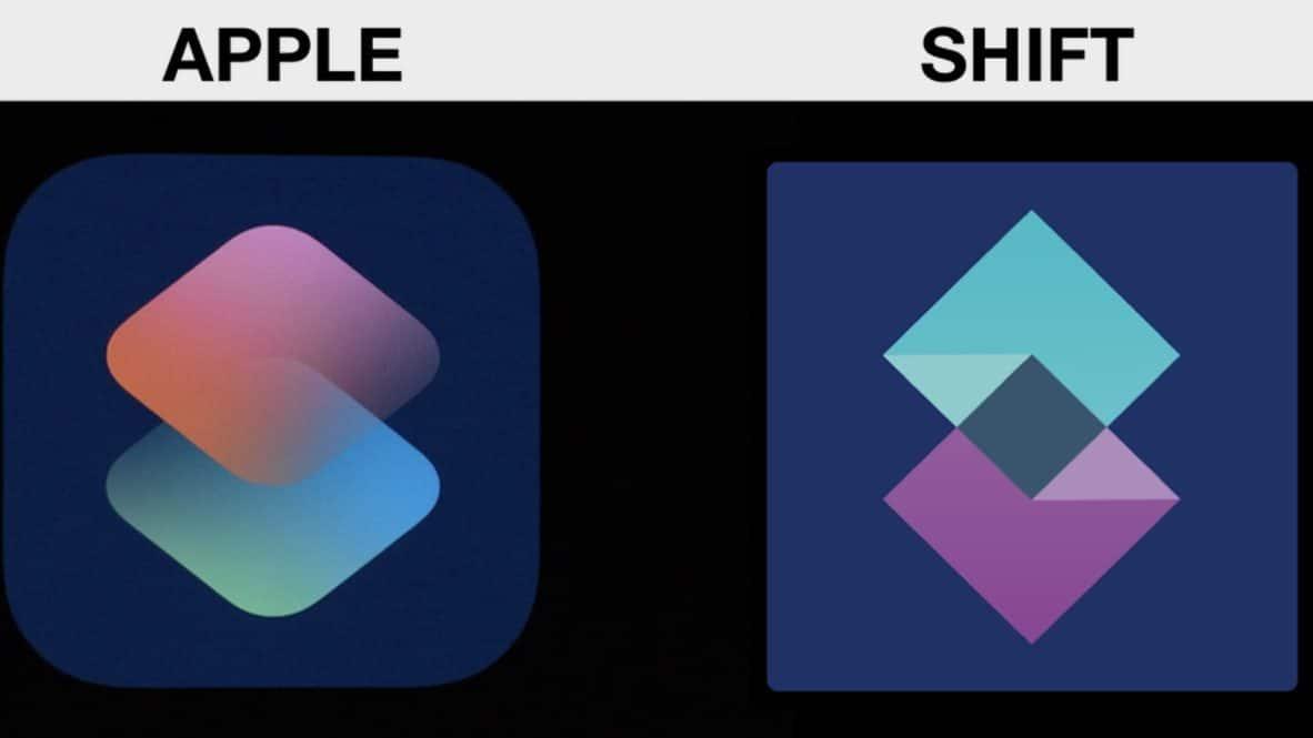 Siri Shortcuts / Shift Logo