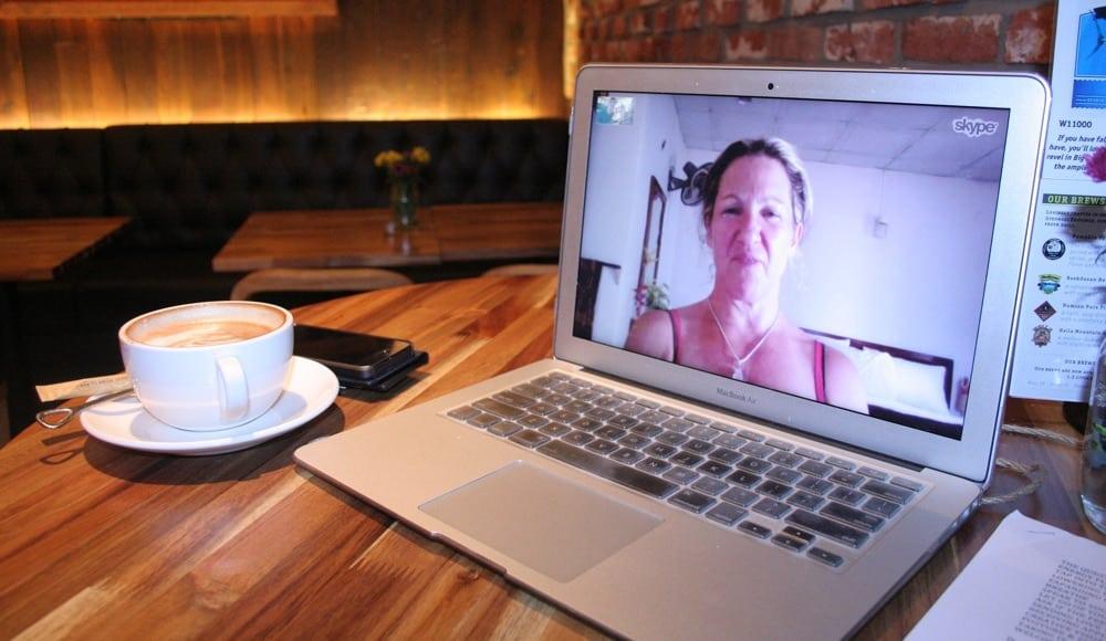 Skype MacBook Air