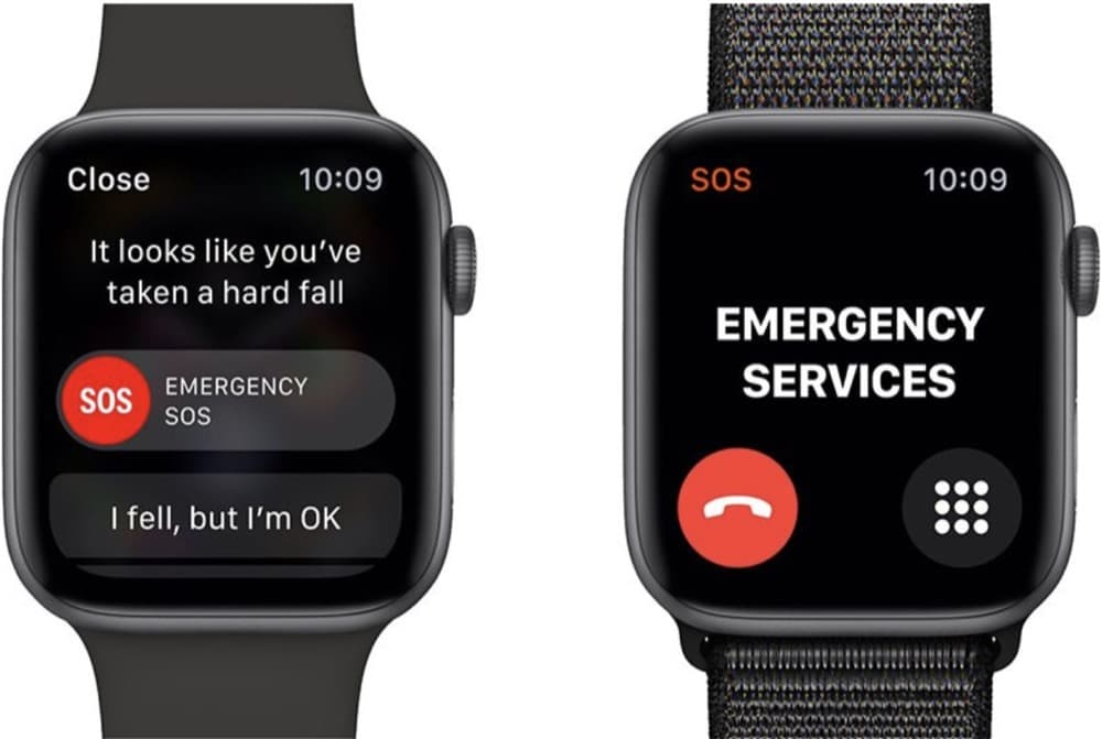 Apple Watch Sturzerkennung