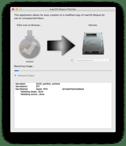 Anleitung: Patch bringt macOS Mojave auf nicht unterstütze