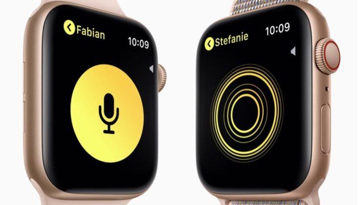 Walkie-Talkie Apple Watch
