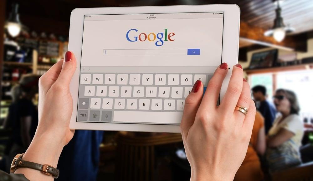 iPad Google Suchmaschine