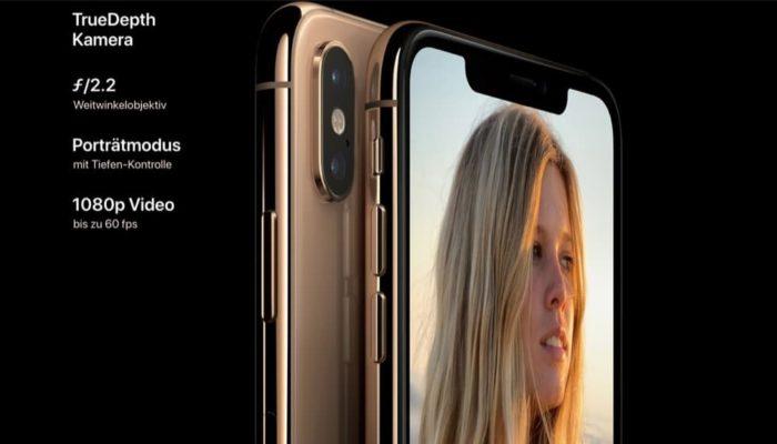 iPhone XS Kamera