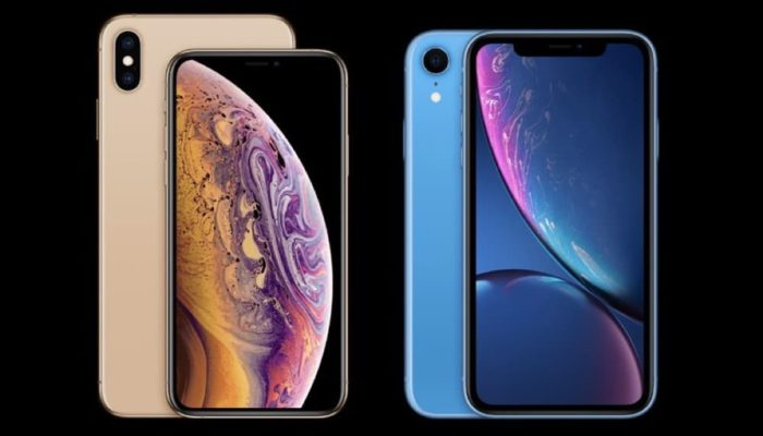 iPhone XS, iPhone XS Max & iPhone XR