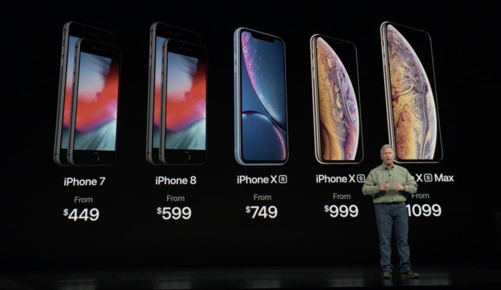 iPhone-Lineup 2018