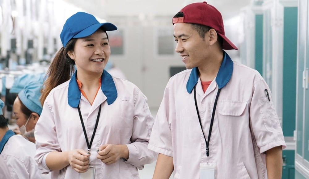 Apple Fabrik China