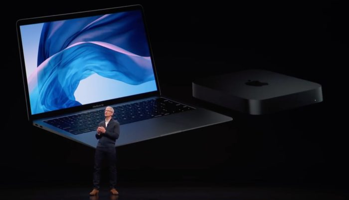 Tim Cook MacBook Air Mac mini