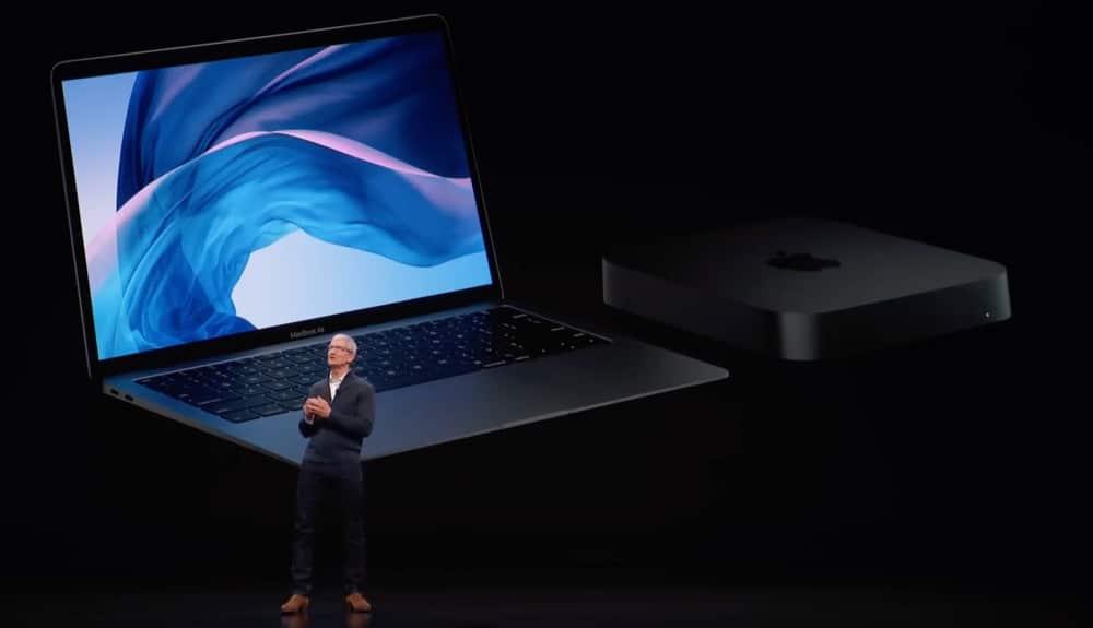 Tim Cook MacBook Air Mac mini