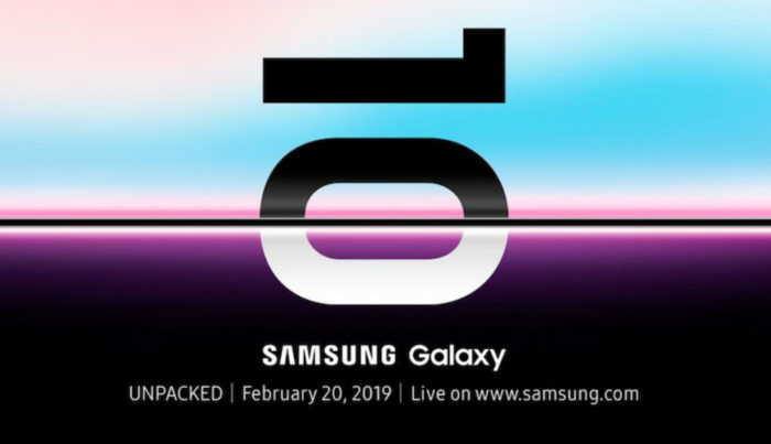 Samsung Galaxy S10 Invite