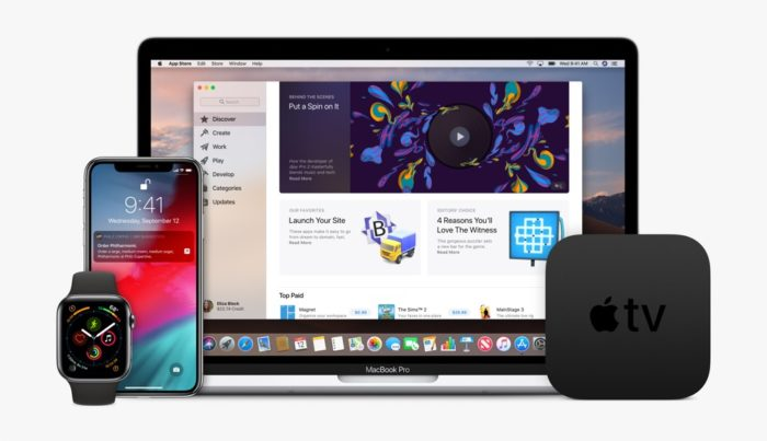 Apple Plattformen Mac iPhone Apple TV Apple Watch