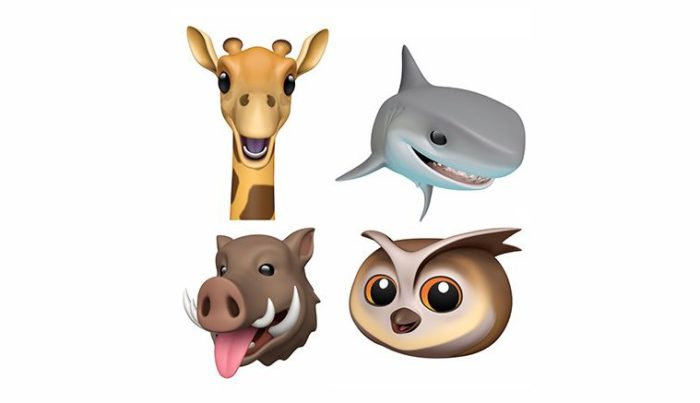 iOS 12.2 Animoji