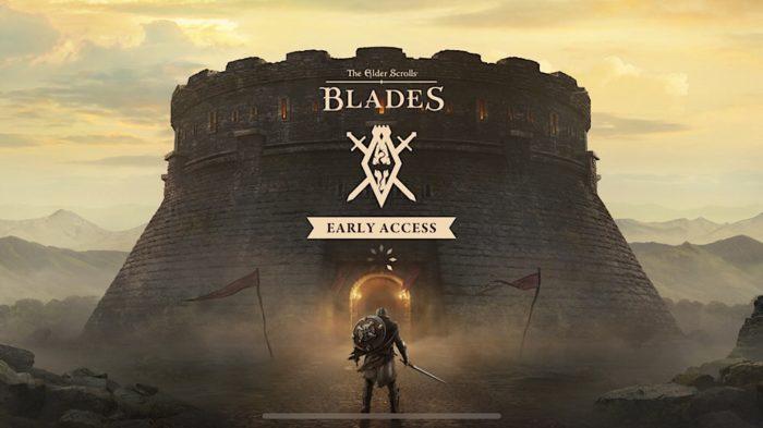 The Elder Scrolls: Blades Splash Screen