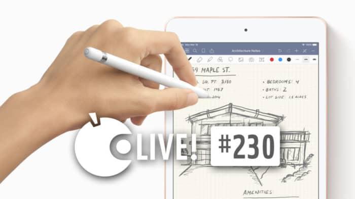 Ein iPad mini 5 mit einem Apple Pencil.