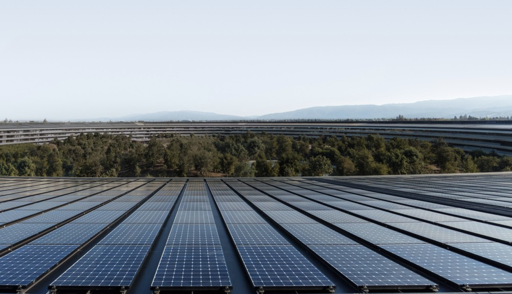 Apple Park Solaranlage
