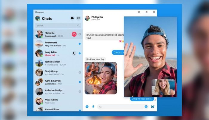 Facebook Messenger App Windows