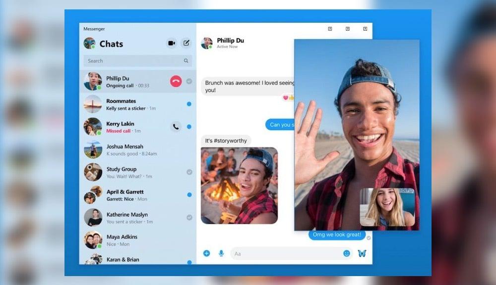 Facebook Messenger App Windows
