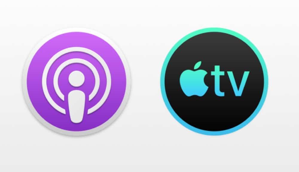 TV und Podcasts-App
