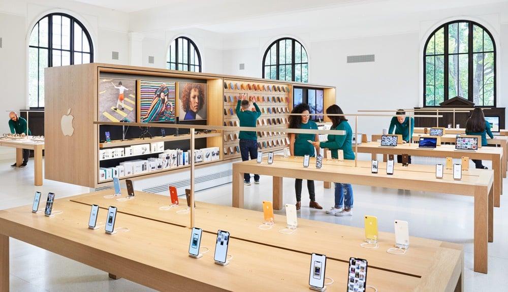 Apple Store Carnegie Library Washington