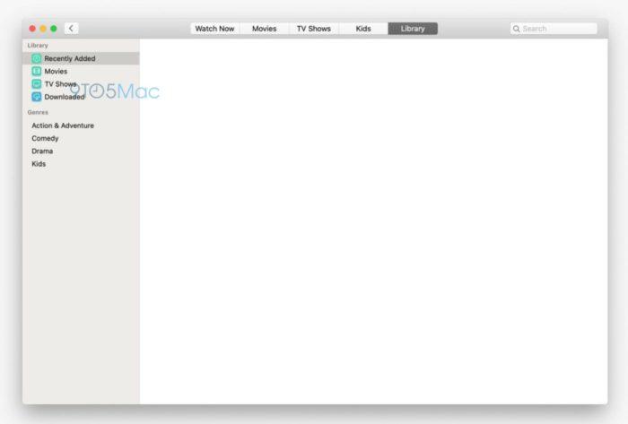 TV-App macOS 10.15