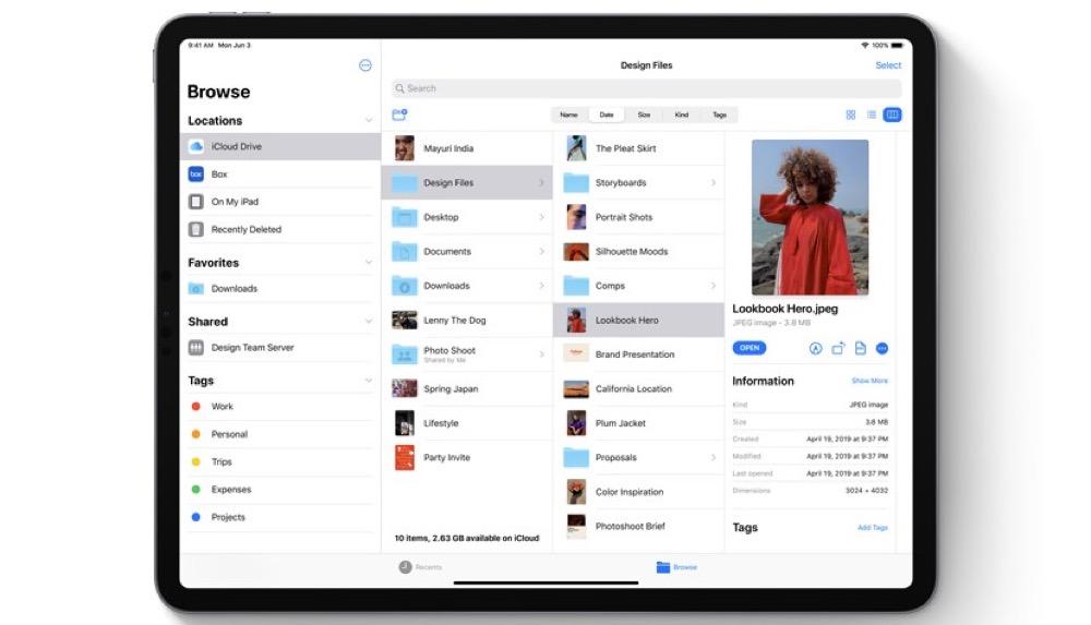 ATEP463 iOS 13 und externer Speicher