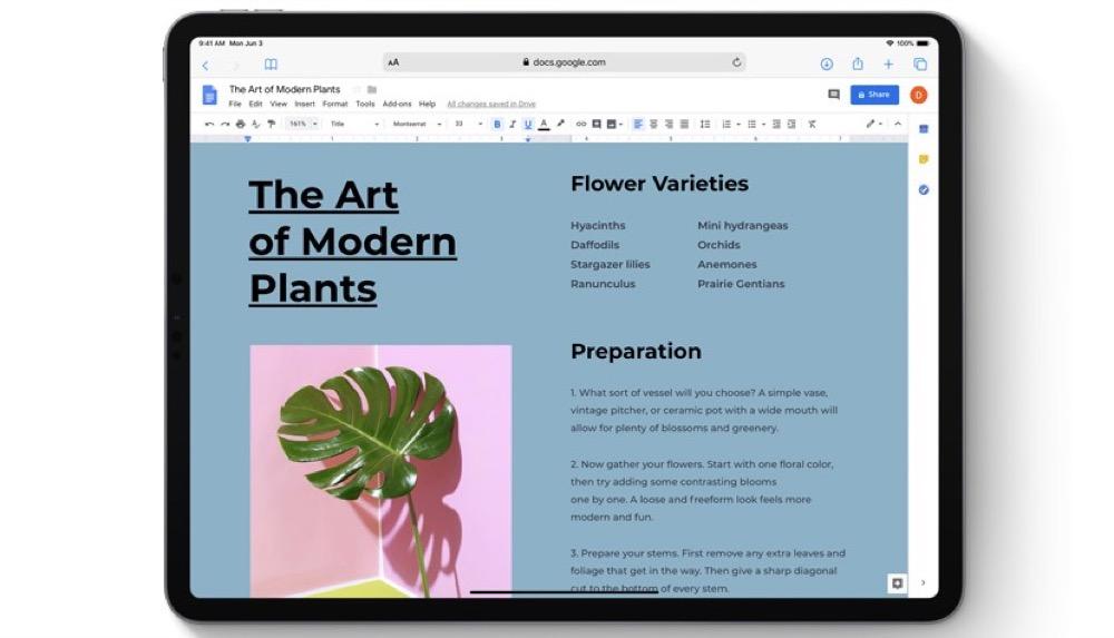 Pages, Numbers und Keynote: Umfangreiche Updates für iOS und macOS