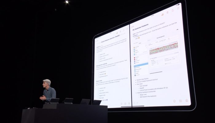 iPadOS Splitview