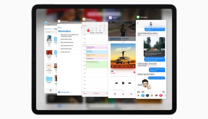 iPadOS Slide-Over
