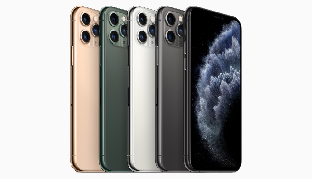 iPhone 11 Pro Farben