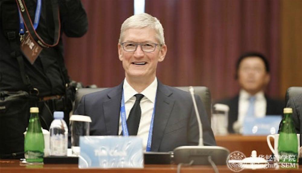 Tim Cook wird Berater an Eliteuniversität in China