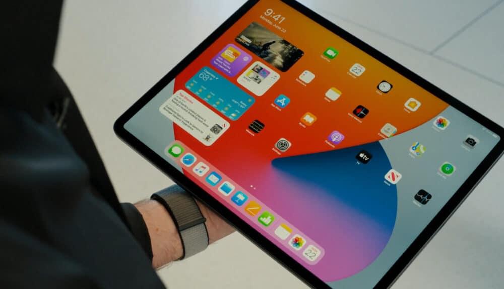 iPadOS 14 Homescreen