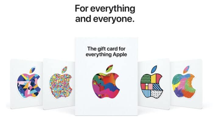 Apple-Gutscheinkarte USA