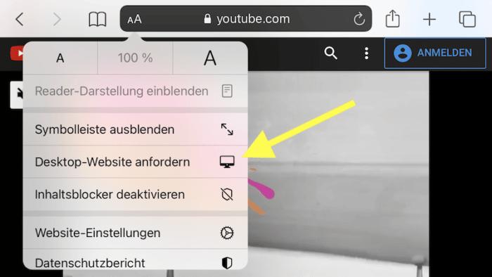 YouTube PiP Safari