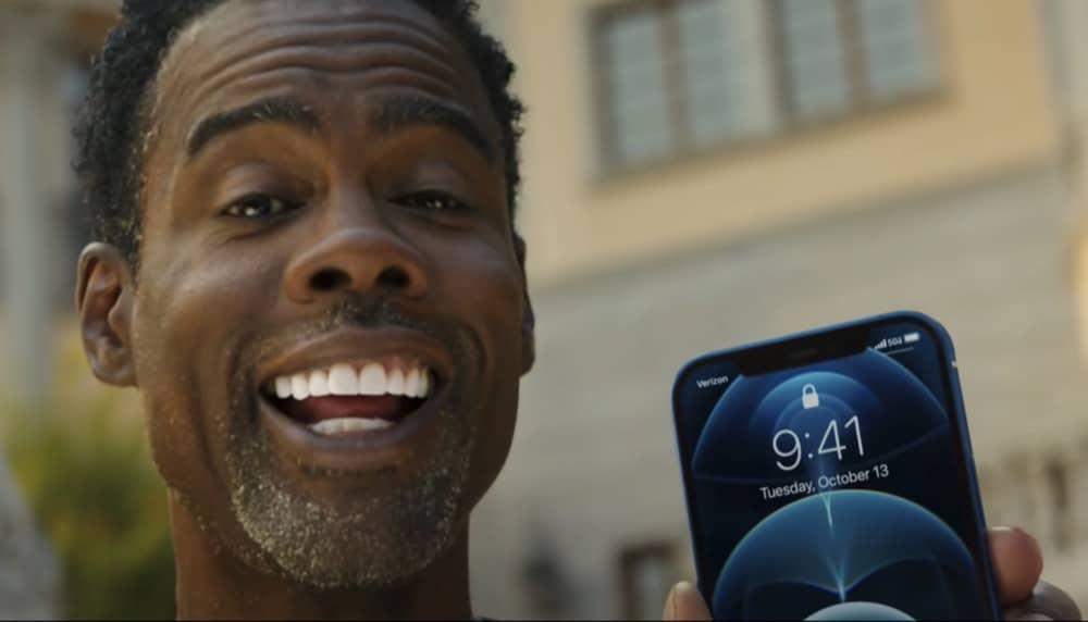 iPhone 12 Werbespot mit Chris Rock - Apfeltalk Magazin