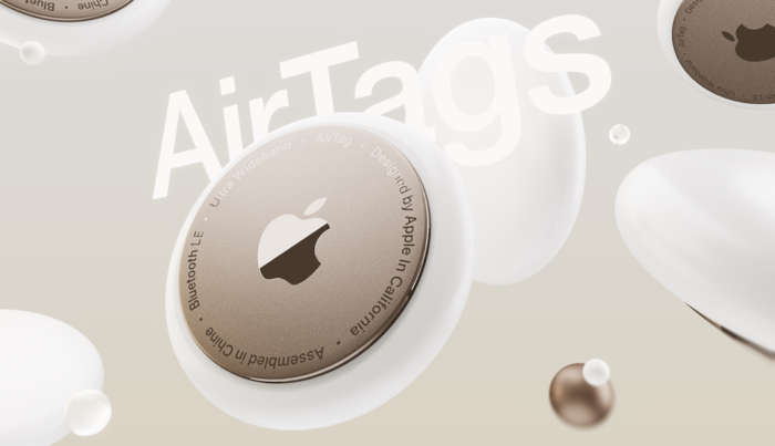 AirTags Mockup