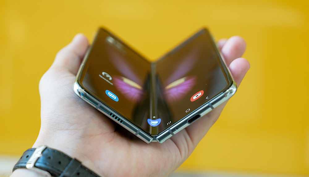 faltbares Handy, Samsung
