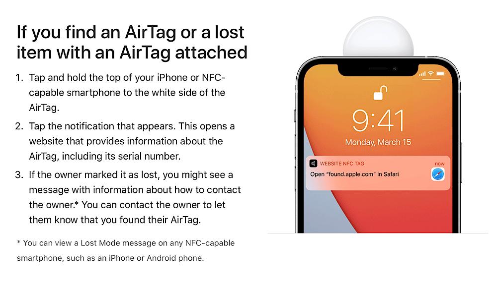 verlorene AirTags